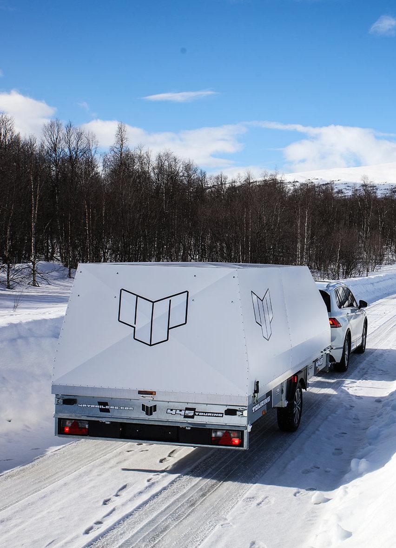 4P-släpet på vägarna i Norrland