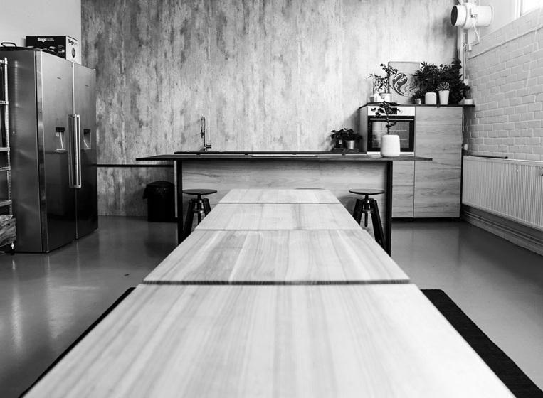 Big South Malmö studiokök för matfotografering