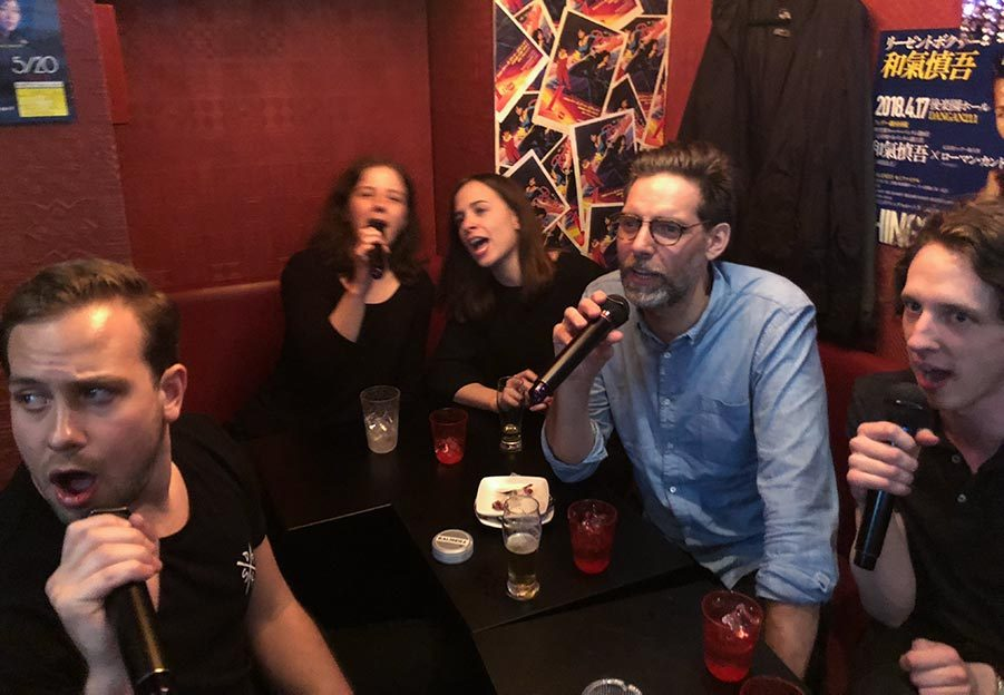 Karaoke med Big South på rouge
