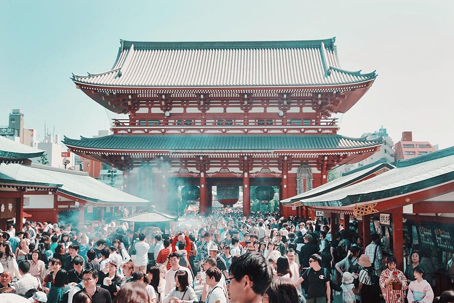 Sensoji templet