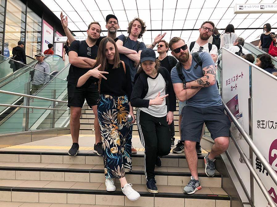 Big South gruppbild i Tokyo