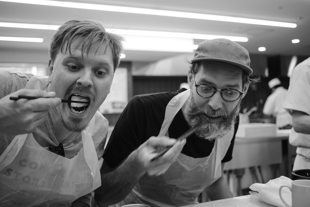 Big South Tokyo - Martin och Christian äter sushi