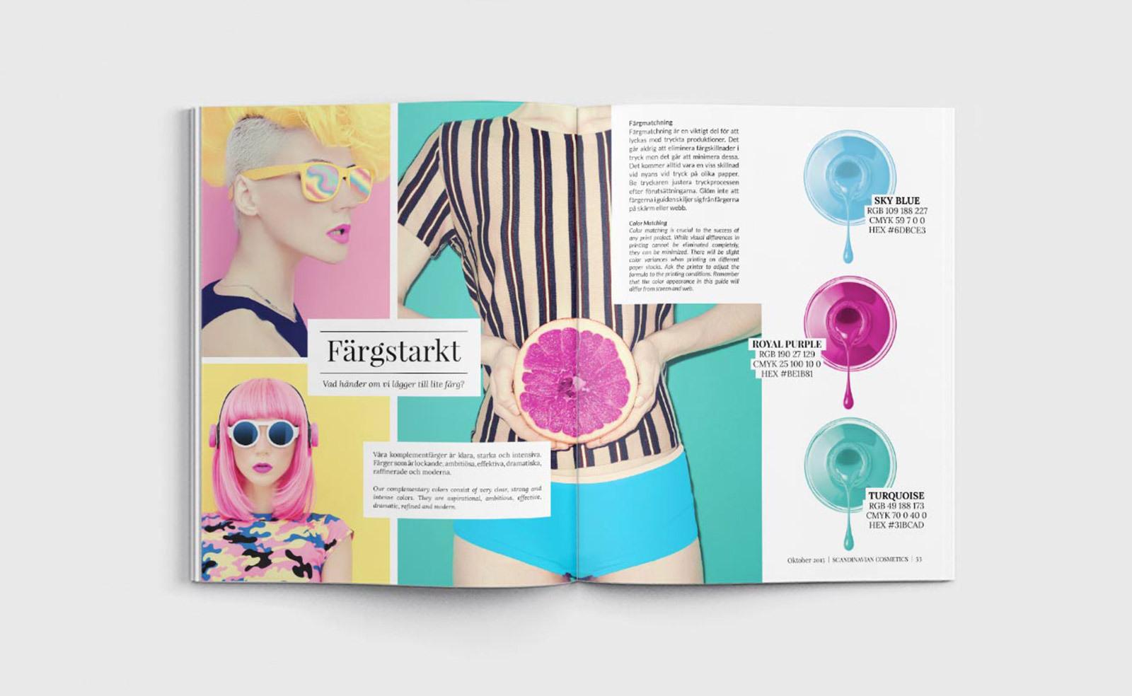 Scandinavian Cosmetics varumärke - magasin