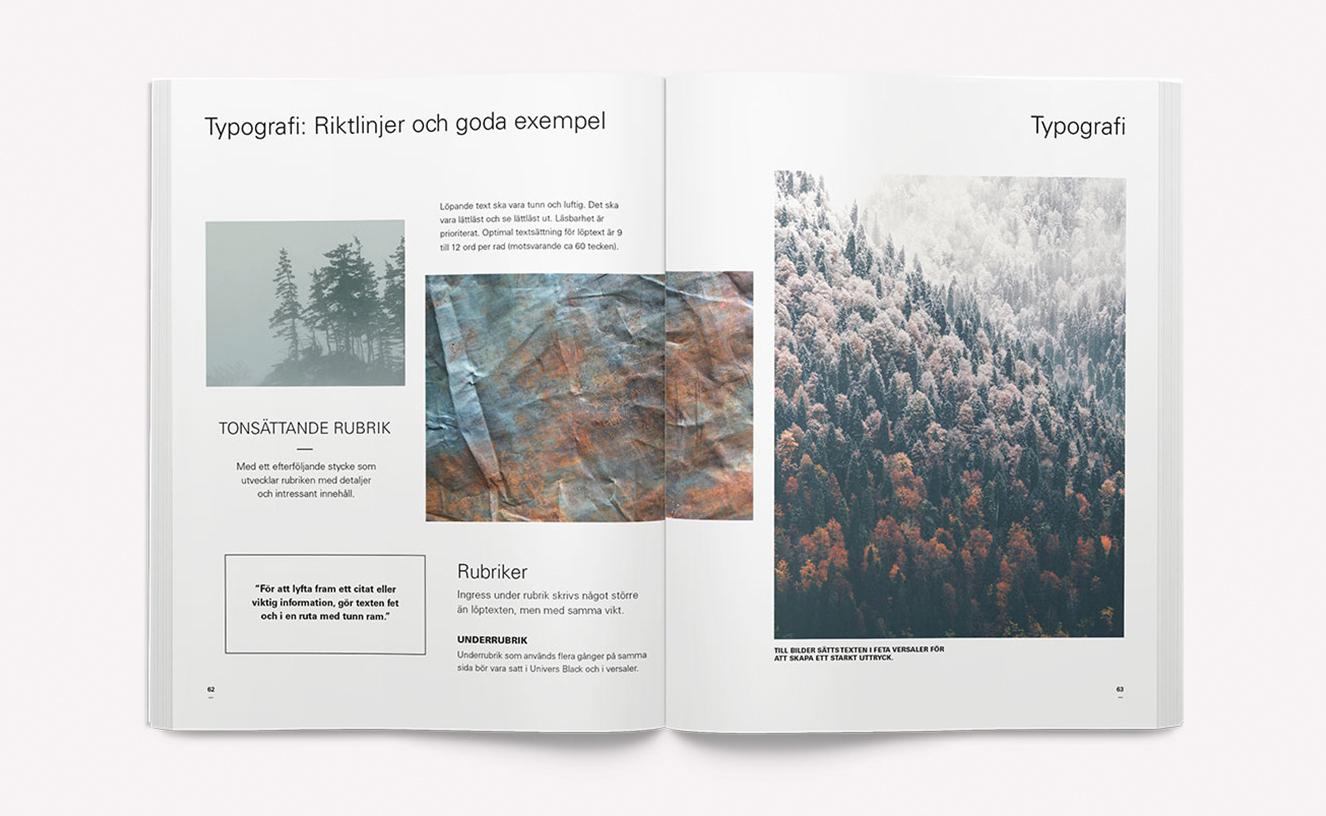 Svenska Kakel - Varumärkesmanual och typografi