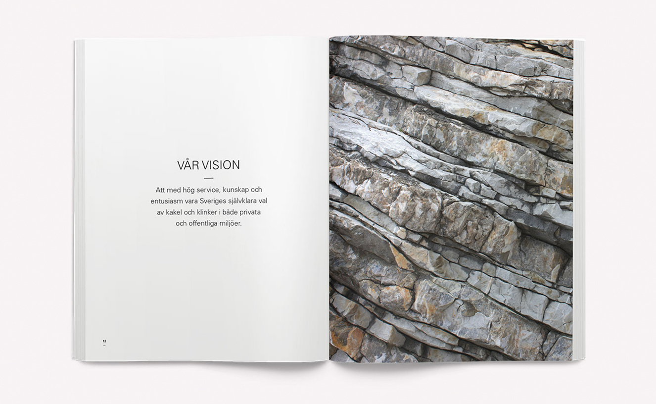Svenska Kakel - Varumärkesmanual och vision