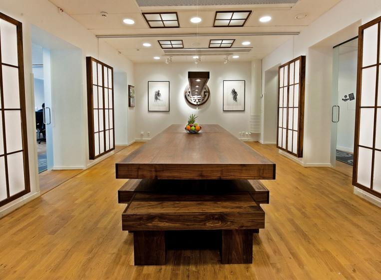 tretton37:s kontorslokaler i japansk stil